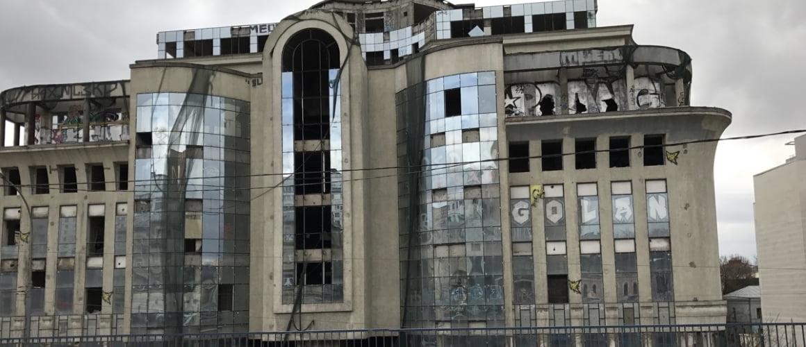 Пример ремонта фасада