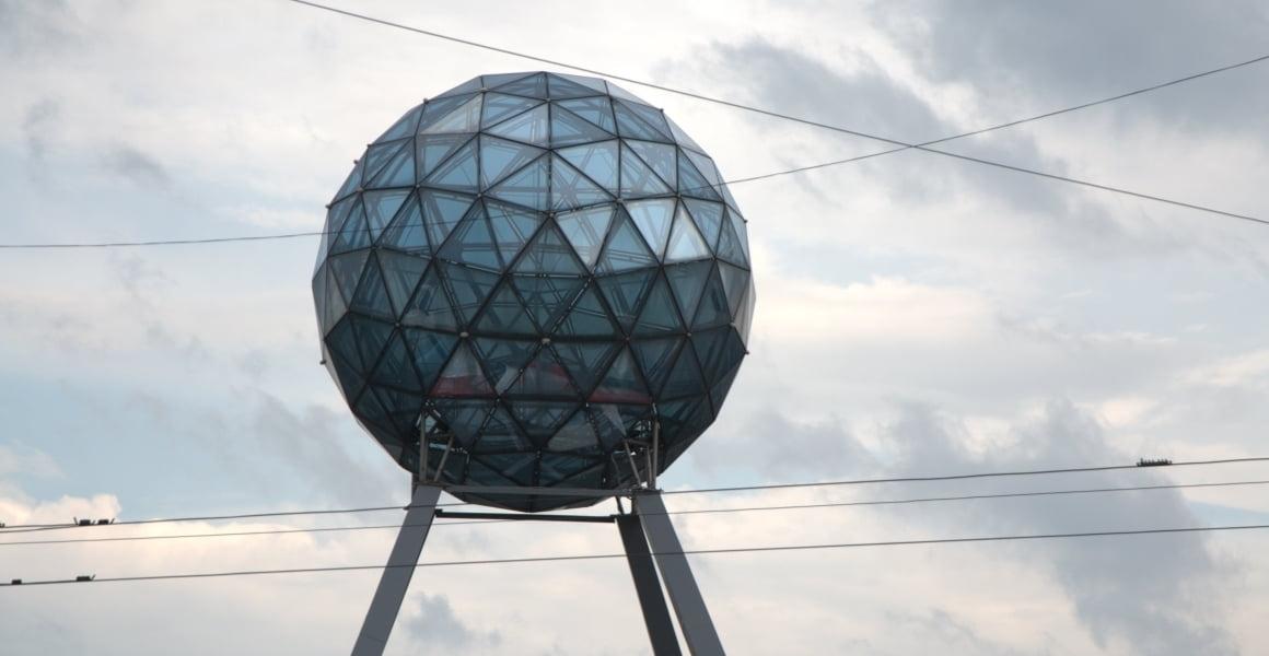 Москва в стеклянных куполах