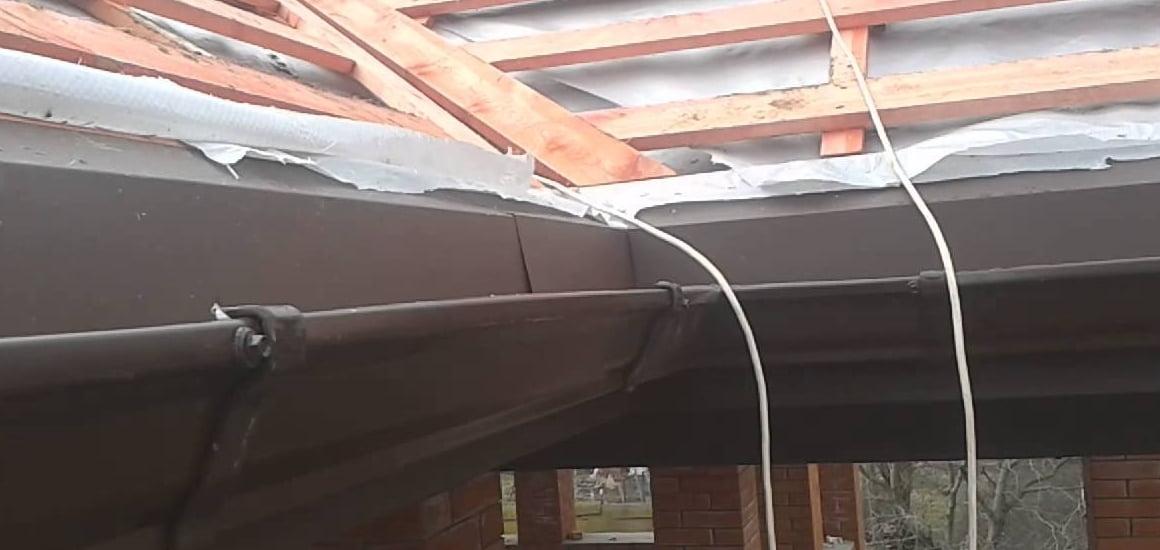 Капельники для крыши