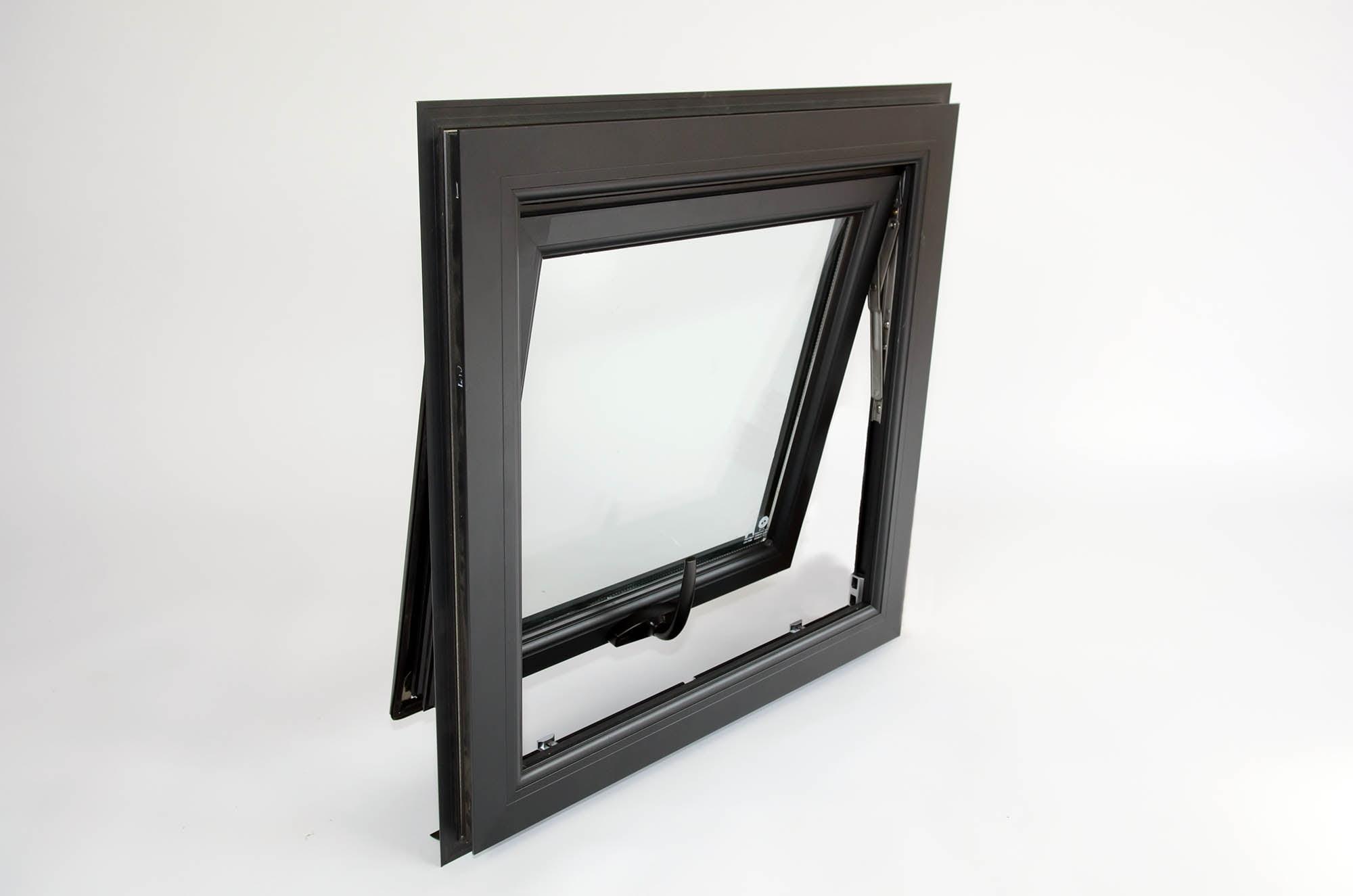 окна из алюминиевого профиля10