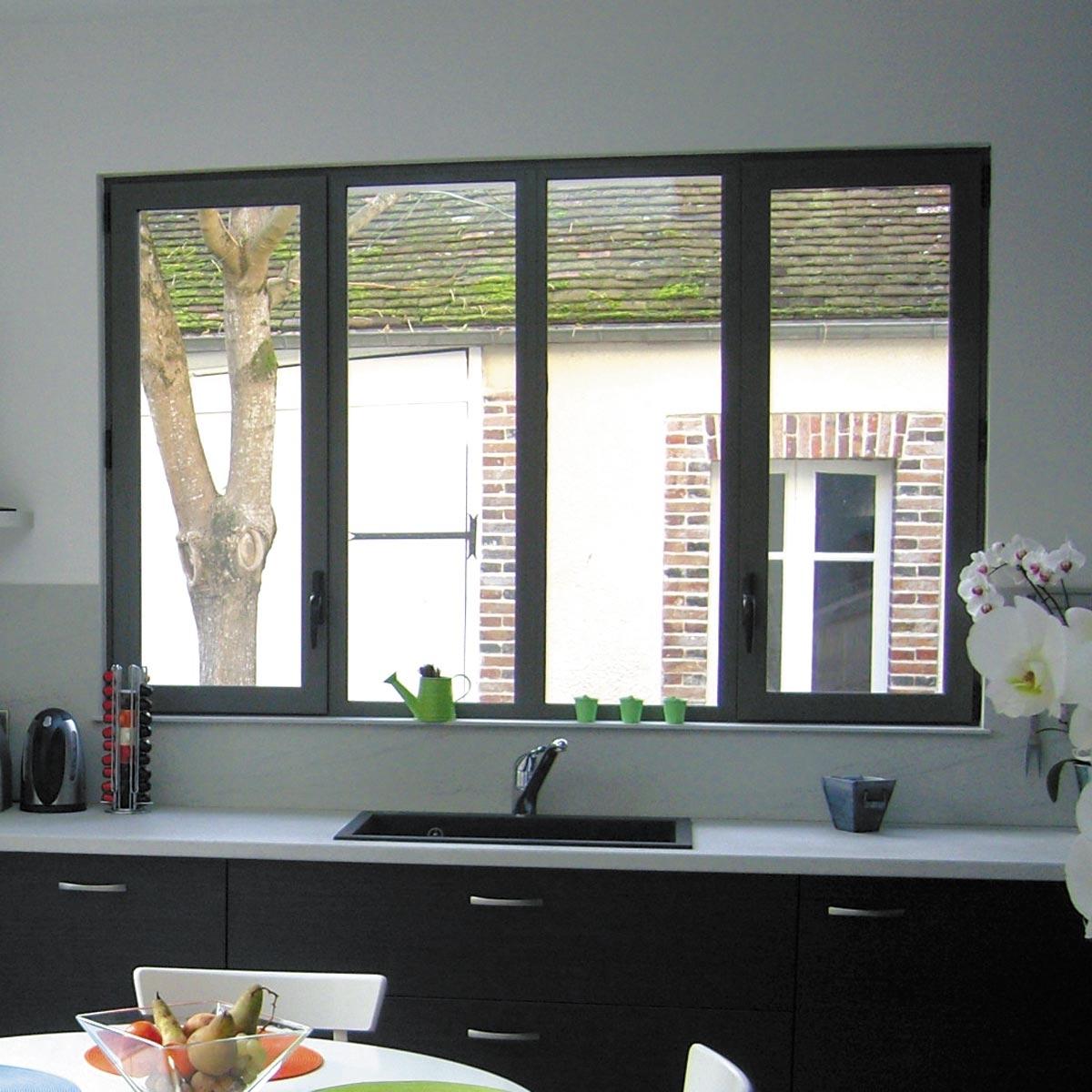 окна из алюминиевого профиля9