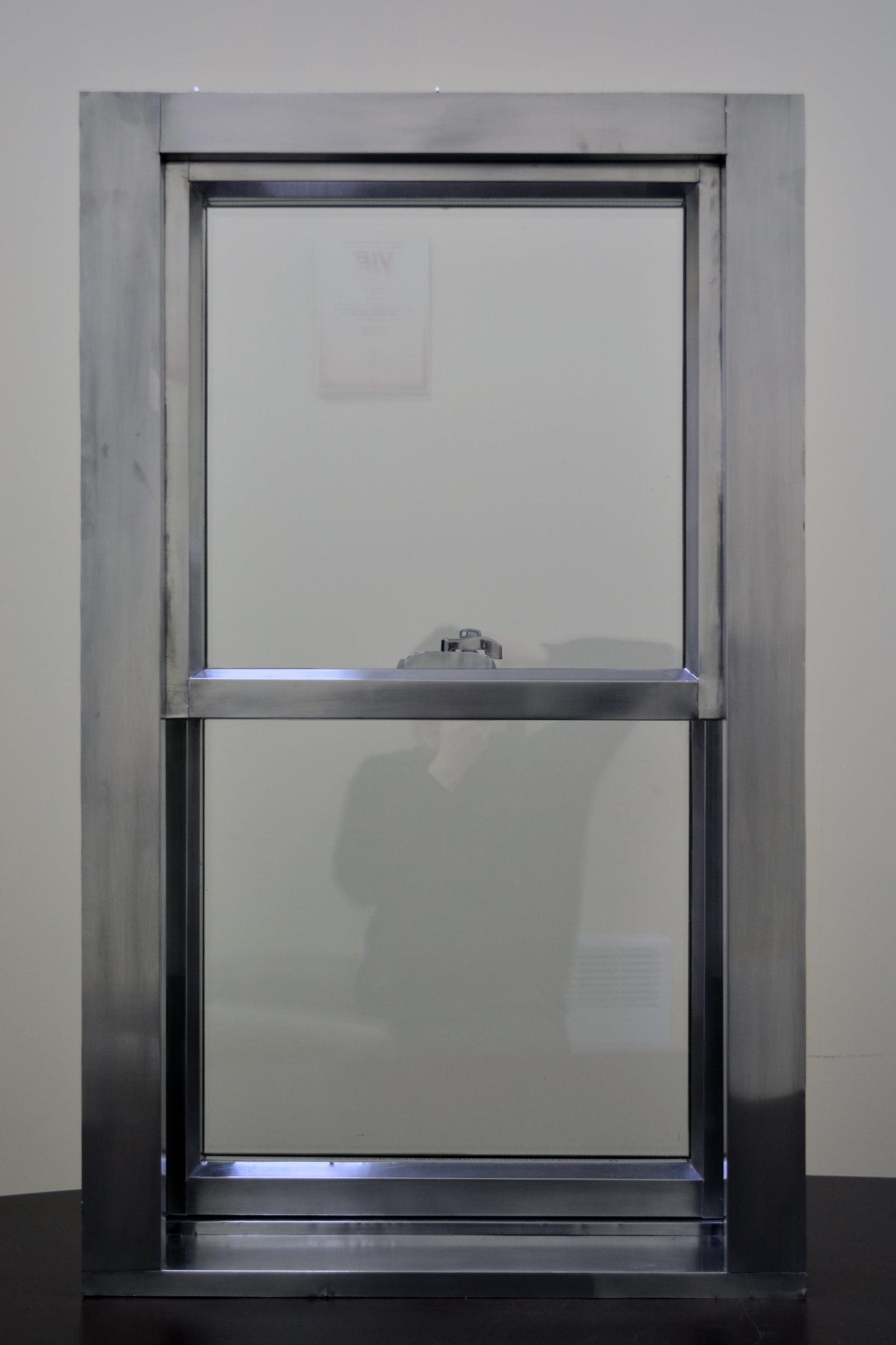 Алюминиевые раздвижные окна6