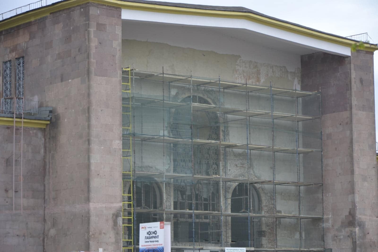 Технология реставрации фасадов