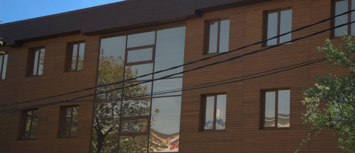 Фасады деревянные