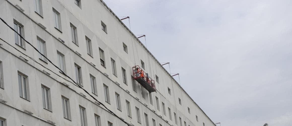 покраска фасадов