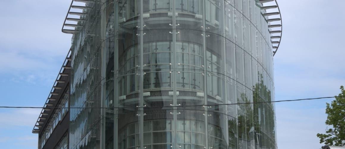 Фасады светопрозрачные