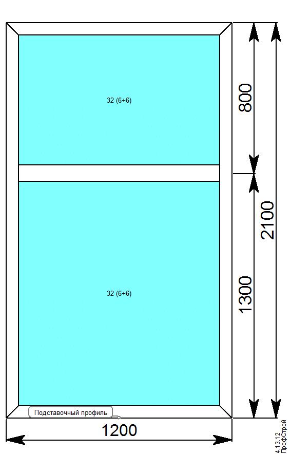 VIDNAL V60 (с терморазрывом) / V60 окна