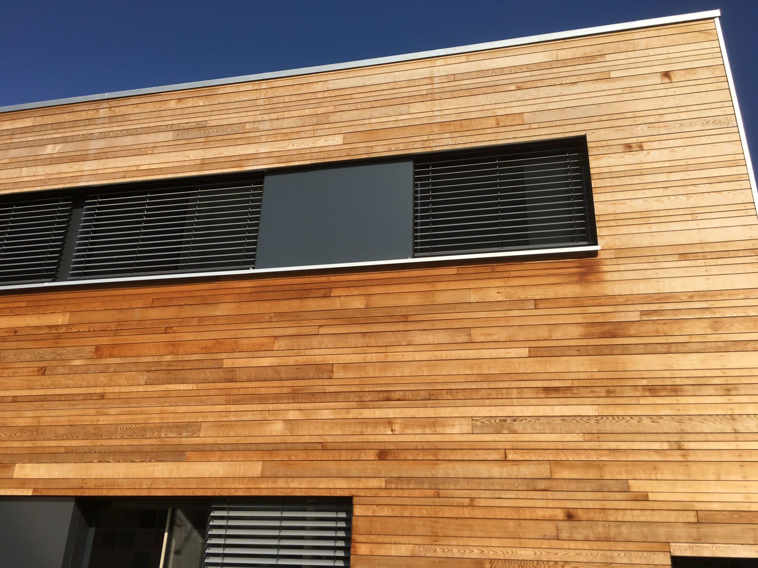 фасад из планкена