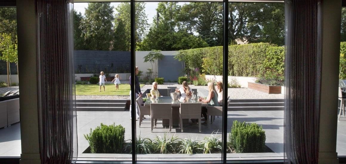 терраса с панорамным остеклением