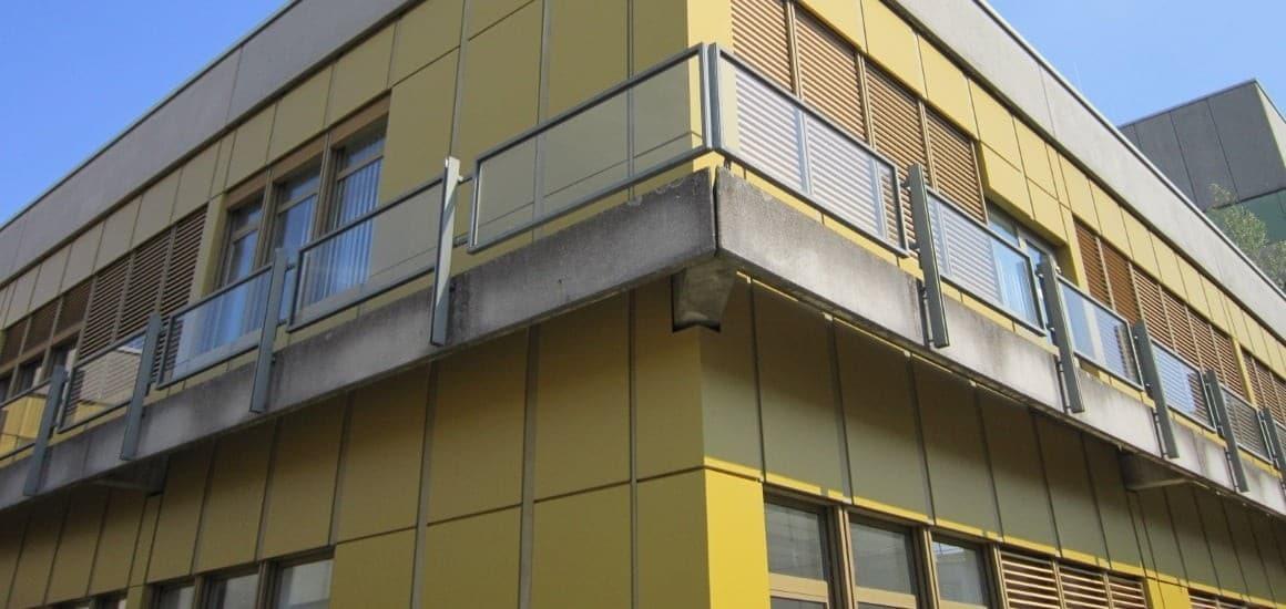 Фасад из металлокассет (фасадных кассет)