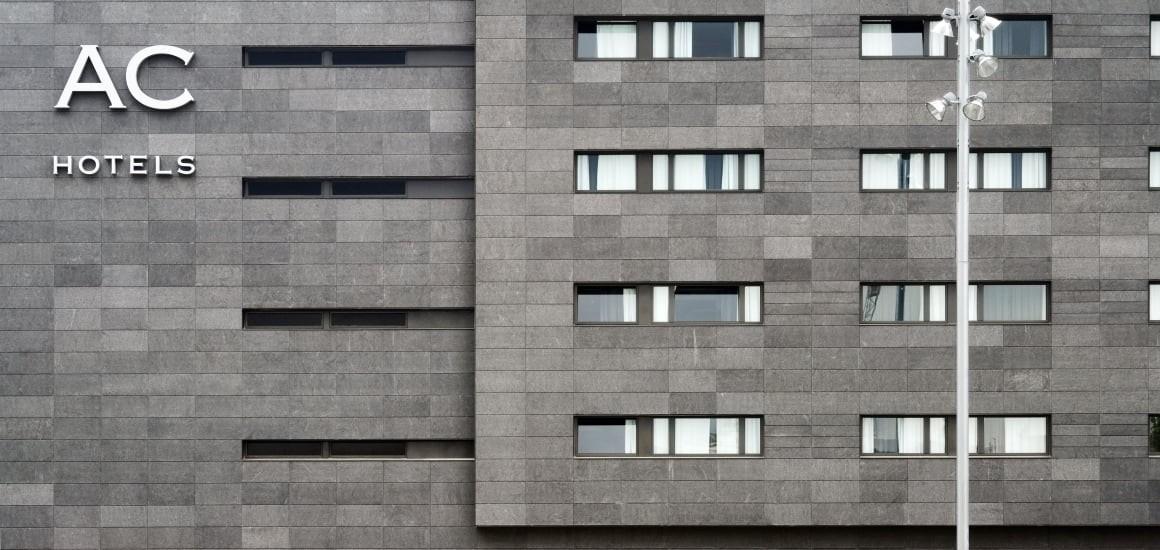навесной вентилируемый фасад из керамогранита
